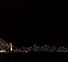Sydney by Night by Drew Walker