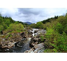 The Beautiful Glen Orchy Falls Photographic Print
