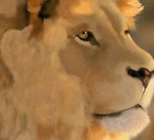 Lion Portrait by VisualCondyle