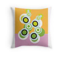 Blogs on my rug Throw Pillow