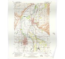USGS Topo Map Idaho Payette 237582 1951 24000 Poster