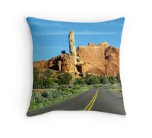 Kodachrome Basin II Throw Pillow