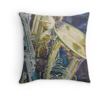 Bouquet of Reeds Throw Pillow