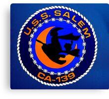 USS Salem Canvas Print