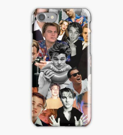 Leonardo Dicaprio Collage iPhone Case/Skin