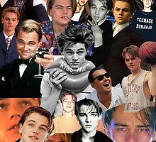 Leonardo Dicaprio Collage by tatianaedell