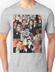 Leonardo Dicaprio Collage Unisex T-Shirt