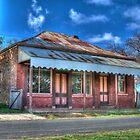 Bryant's Butcher's Shop, Hill End, NSW, Australia by Adrian Paul