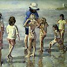 School on the beach at Ardrossan by pamfox