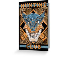 Hunting Club: Tigrex Greeting Card