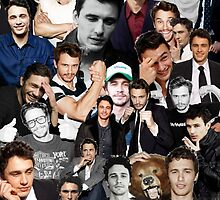 James Franco Collage by tatianaedell