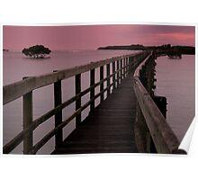 Urunga Lido....A walk to the ocean Poster
