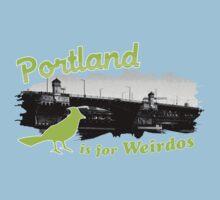Portland is for Weirdos Kids Clothes