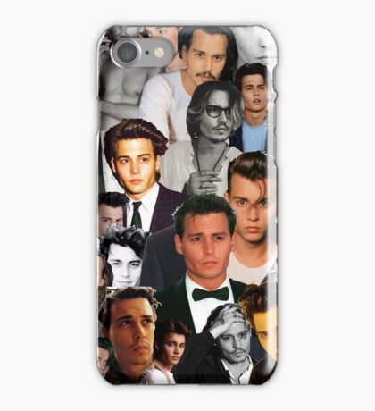 Johnny Depp Collage iPhone Case/Skin