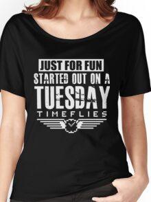 Timeflies- Just For Fun Women's Relaxed Fit T-Shirt