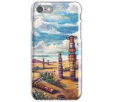 The Land of Totems iPhone Case/Skin