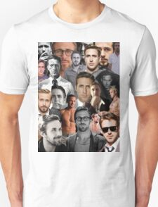 Ryan Gosling Collage T-Shirt