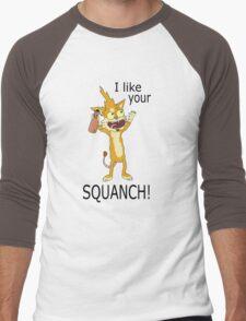 Squanchy Men's Baseball ¾ T-Shirt