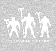 """""""It's Comparison Time"""" - Skullface Baby Tee"""