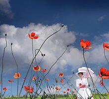 Stroll In The Field by Igor Zenin