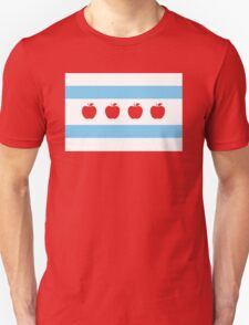 Chicago Teacher Flag - original RED T-Shirt