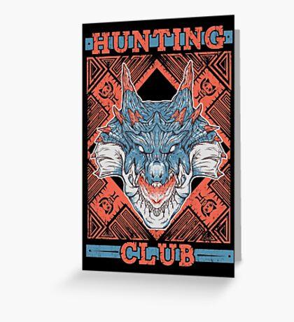 Hunting Club: Lagiacrus Greeting Card