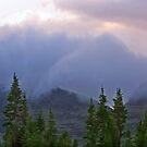 Storm Slipping Over the Mountain by Ken Fortie