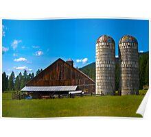 Sanders County (Montana) Farm Poster