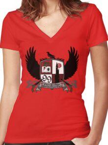 The Crest of Ka-Tet Women's Fitted V-Neck T-Shirt