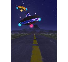 The Extraterestrial Highway Photographic Print