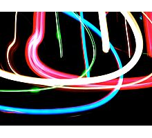 Neon Lights  Photographic Print
