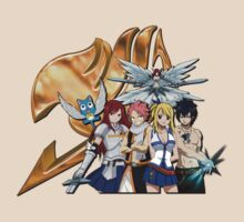 Fairy Tail Crew by ronniejq