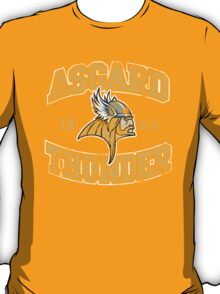 Asgard Thunder Football Athletic Tee T-Shirt
