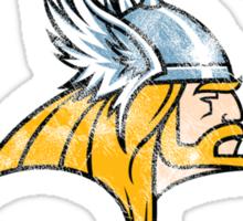 Asgard Thunder Football Athletic Tee Sticker