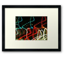 Arrows and Crosses Framed Print