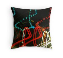 Arrows and Crosses Throw Pillow