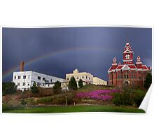 Bellingham Rainbow Poster