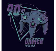 90s gamer forever Photographic Print