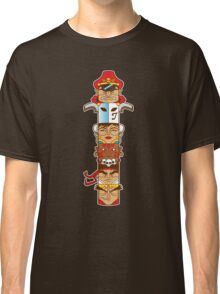 Street Fighter 2 Totem Classic T-Shirt
