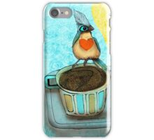 What my #Coffee says to me August 17 2015 iPhone Case/Skin