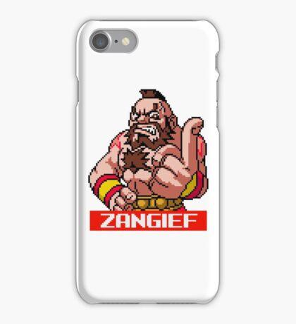 Zangief - Street Fighter Sprite iPhone Case/Skin