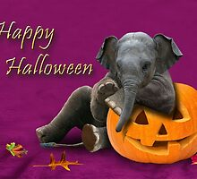 Halloween Elephant by jkartlife