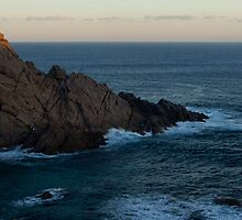 Dawn Breaking at Sugarloaf Rock, Dunsborough W.A. by Sandra Chung