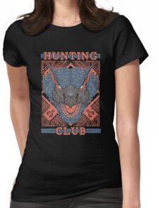 Hunting Club: Nargacuga Womens Fitted T-Shirt