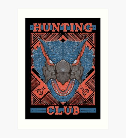 Hunting Club: Nargacuga Art Print