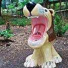 Drinking fountain in the Houston Zoo by Ann Reece