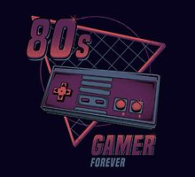 80s gamer forever by Typhoonic