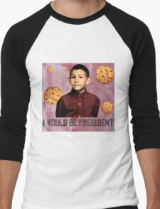 DEWEY PRESIDENT MALCOLM IN THE MIDDLE Men's Baseball ¾ T-Shirt