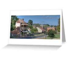 Clarke St, Hill End, NSW, Australia Greeting Card