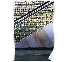 Escalator Abstract Poster